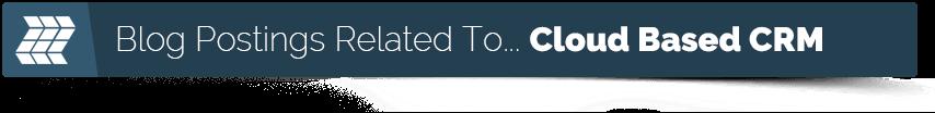 cloud crm blog posts