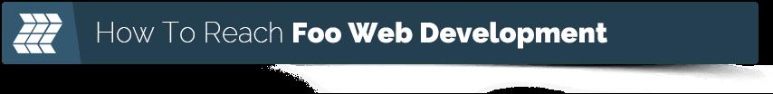contact web designer