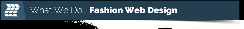 fashion web design