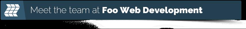 meet the team at foo web development