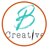 B Creative Painting Studio logo design