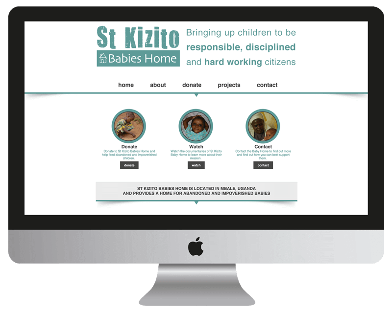 nonprofit orphanage web design