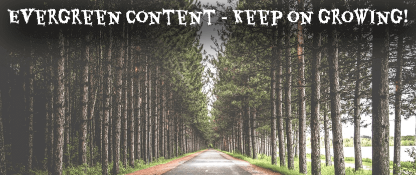What is Evergreen Content for your Website?